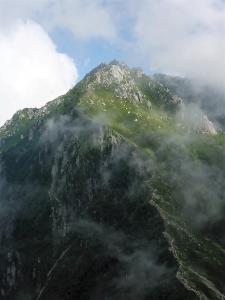 空木岳第1峰