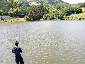 田子池(溜め池) ブラックバス釣